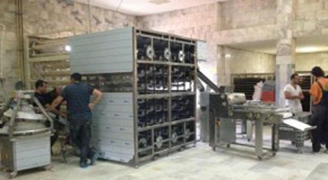 Halk ekmek üretime başladı