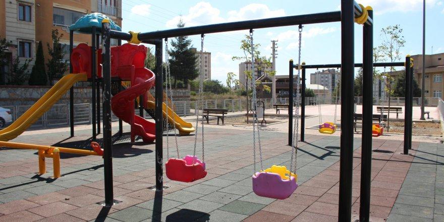 Gebze'de parklara yenileniyor