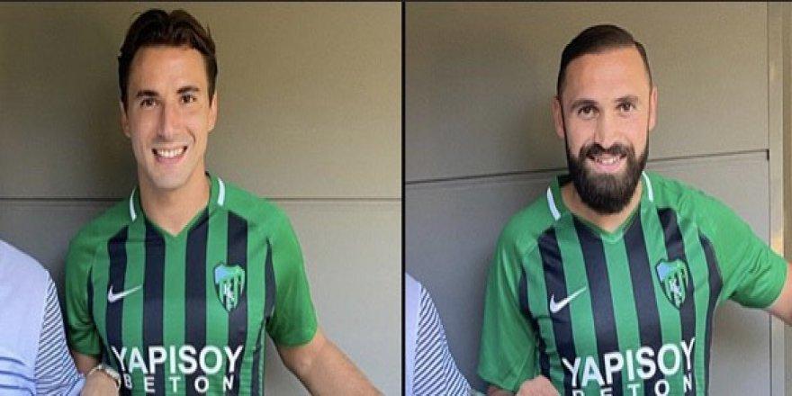 Kocaelispor'da nokta transferler