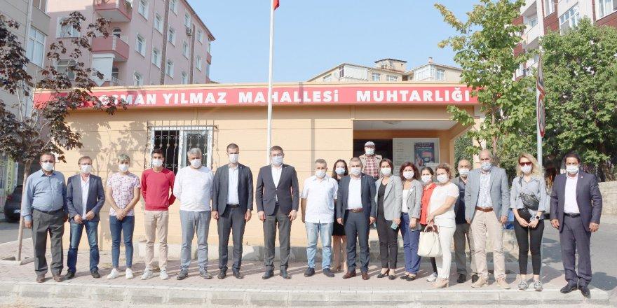 CHP Gebze'ye  çıkarma yaptı
