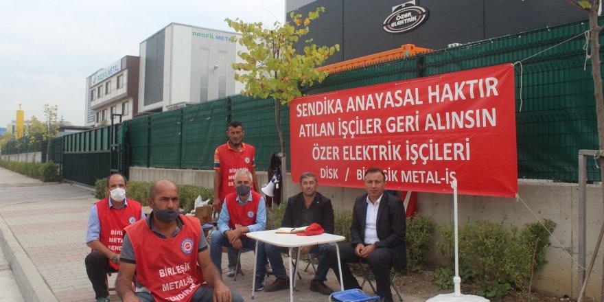 """ÖZER ELEKTRİKTE İŞVEREN DEVLETE """"İLLAHLAH"""" ETTİRDİ"""