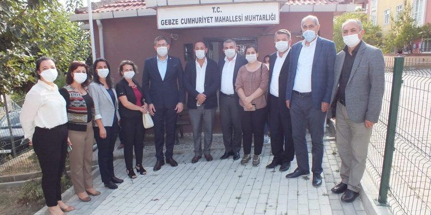 CHP Kocaeli  Gebzelileri dinledi