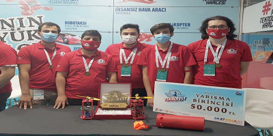 GTÜ'lü öğrencilere Cumhurbaşkanı Erdoğan'dan ödül