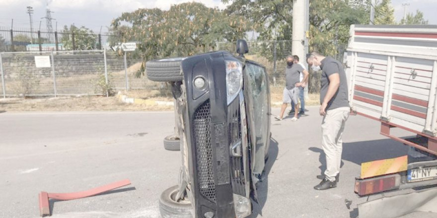 Sarman ailesine kaza şoku