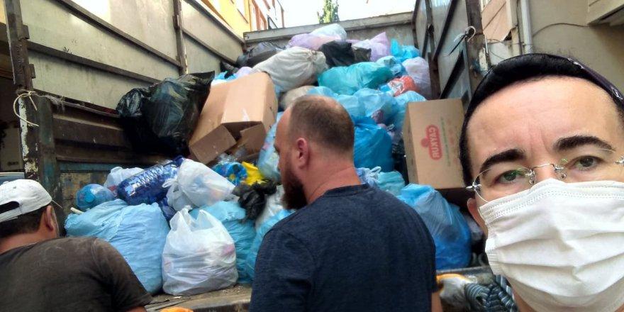 3 yılda 340 kilo atık topladılar