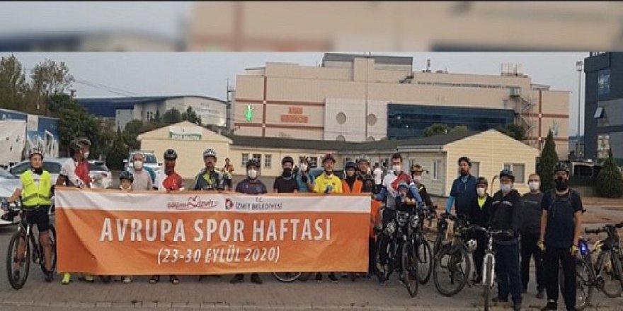 Avrupa spor haftasında vatandaşlar sporla buluştu