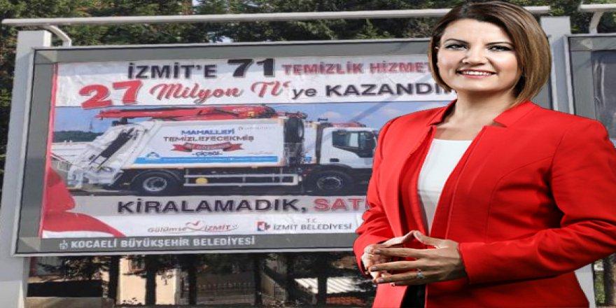Hürriyet'ten Büyükgöz'e  çöp aracı mesajı!