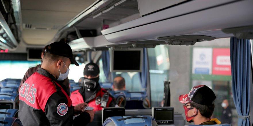 Toplu ulaşım araçlarında  Covid-19 denetimi