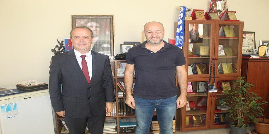 BİK Kocaeli Şube Başkanı Yalçıntaş'tan gazetemize ziyaret