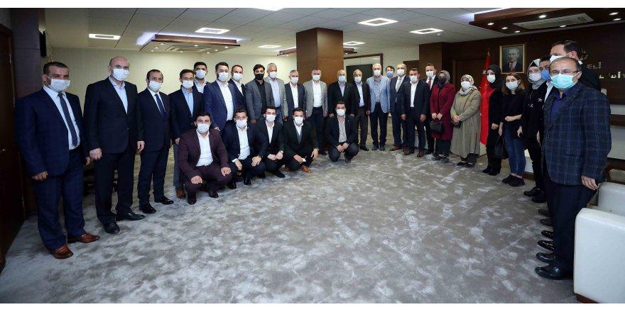 AK Parti  Gebze'den  Büyükakın'a ziyaret
