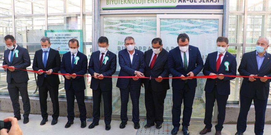 GTÜ'de Ar-Ge Serası Açıldı