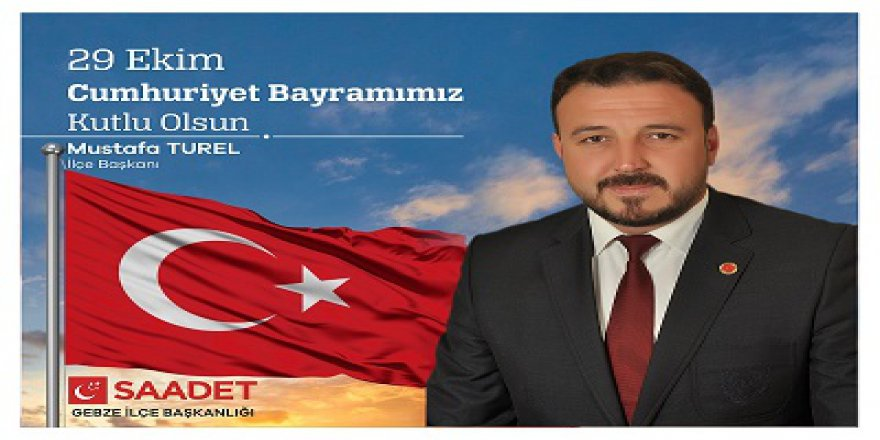 """""""İstiklal mücadelemiz  Cumhuriyet ile taçlandırıldı"""""""