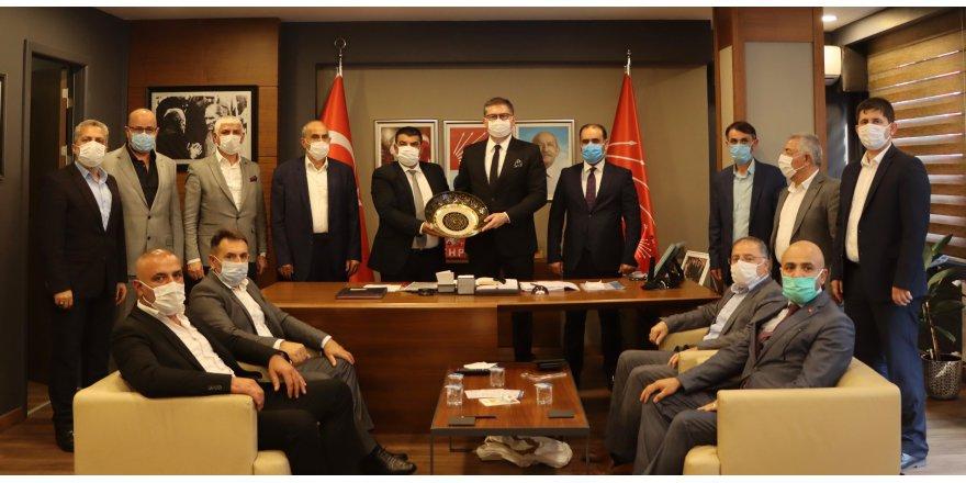 CHP Ağrı Dernekleri  Federasyonu'nu ağırladı
