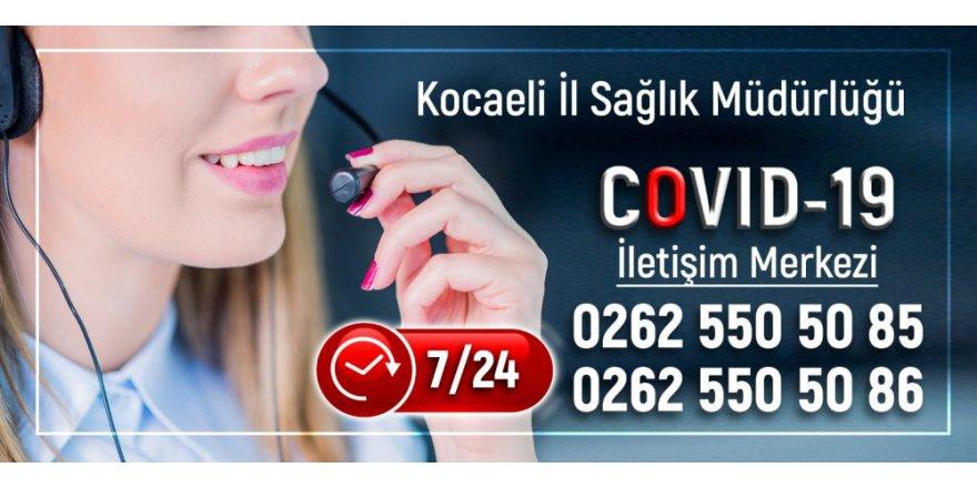 Gebze ve İzmit'e Covid-19 iletişim merkezi