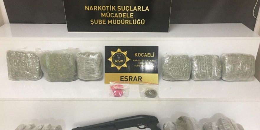 Darıca'da uyuşturucu  operasyonu: 5 gözaltı