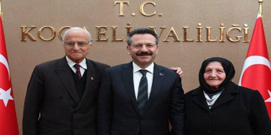 Vali Hüseyin Aksoy'un babası vefat etti