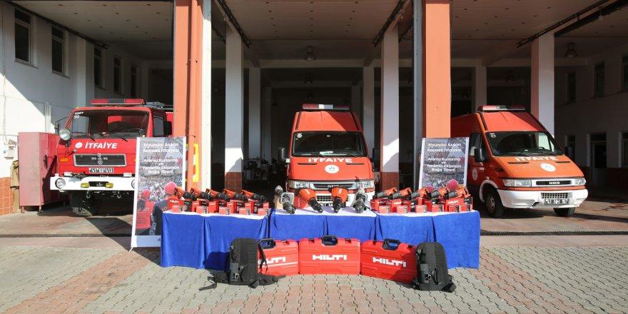 Hyundai Assan'dan itfaiye destek