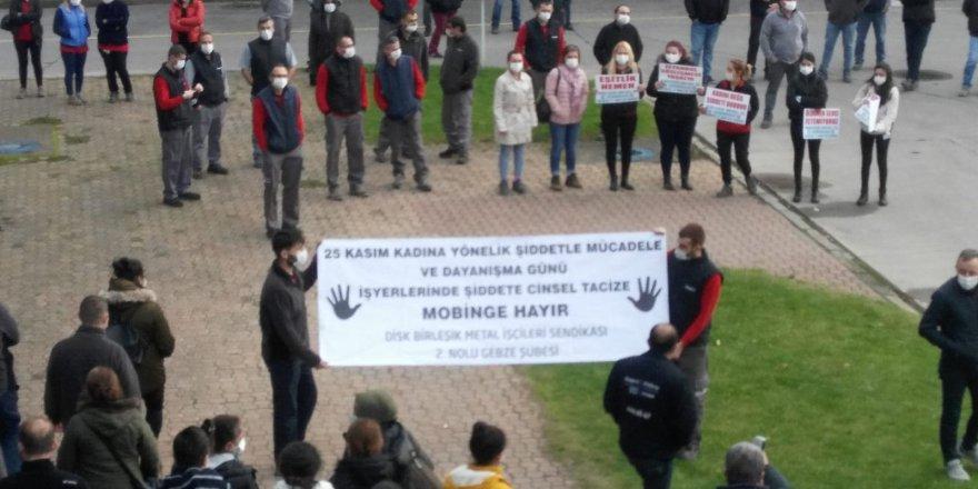 Kadına Yönelik Şiddete, Tacize, Mobbinge  Hayır!