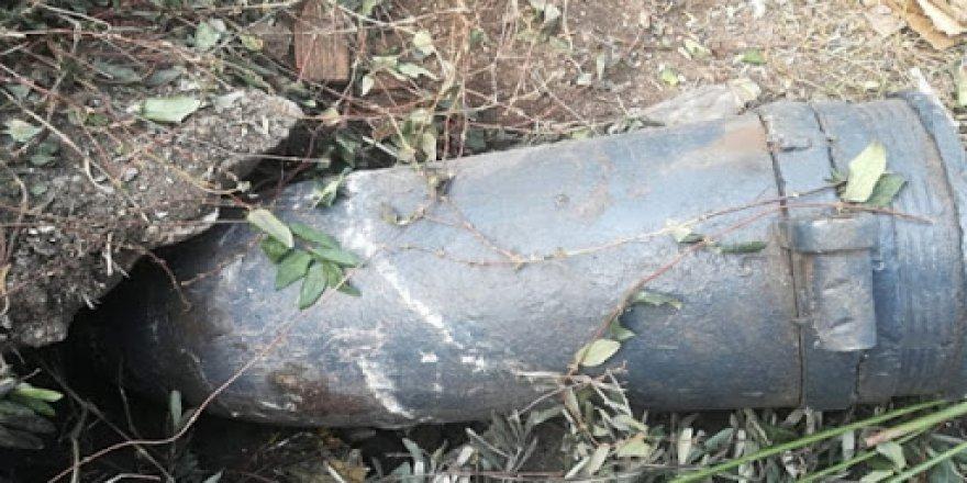 Patlamamış eski top mermisi bulundu