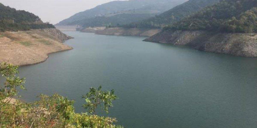 Yuvacık barajında su  seviyesi yüzde 18'de