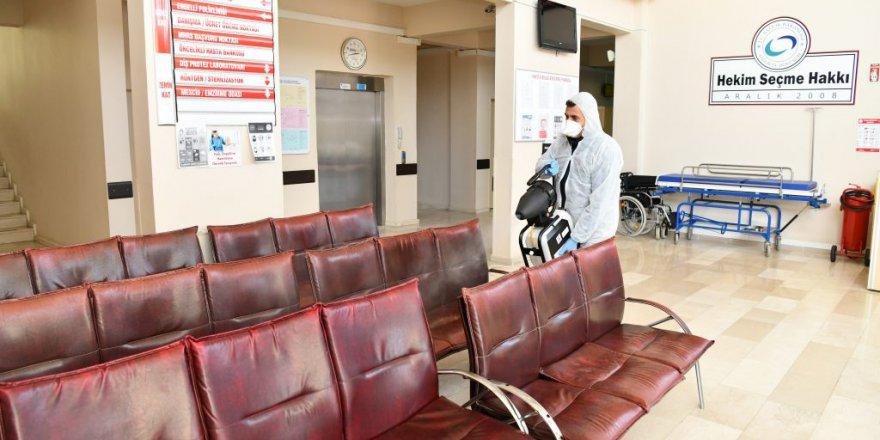 Karantinadaki vatandaşa talep halinde dezenfekte