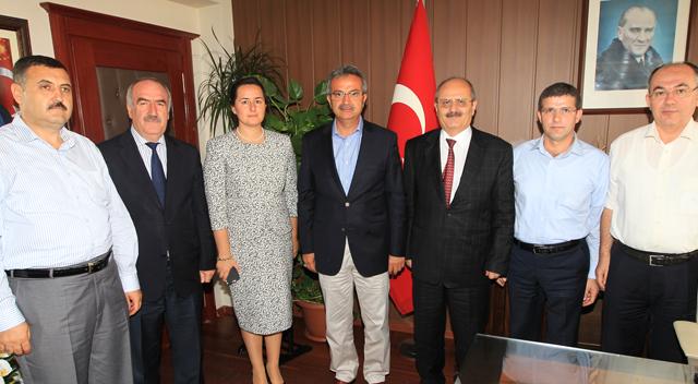 Başkan Köşker'den Kaymakam Arslan'a Hayırlı olsun ziyareti