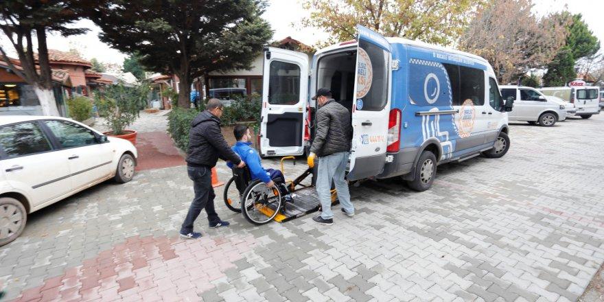 Engelli vatandaşların  ulaşım aracı oldu
