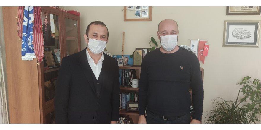 Yaşar Çakmak gazetemizi ziyaret etti