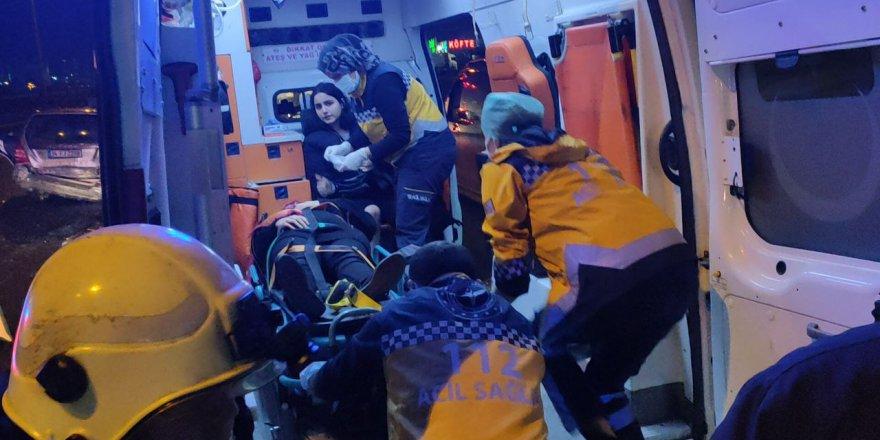 Zincirleme kaza: 7 yaralı