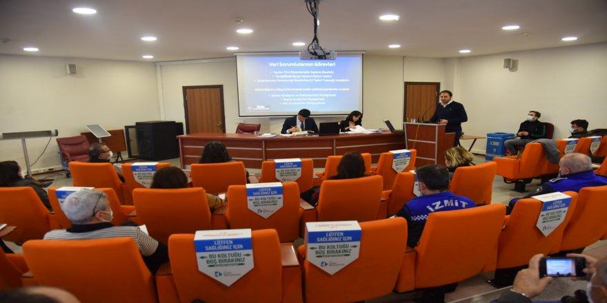 İzmit Belediyesinde KVKK eğitimleri