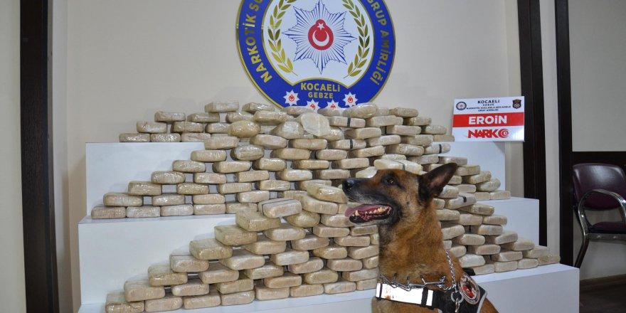 KOCAELİ'DE UYUŞTURUCU OPERASYONLARI:  16 zehir taciri tutuklandı