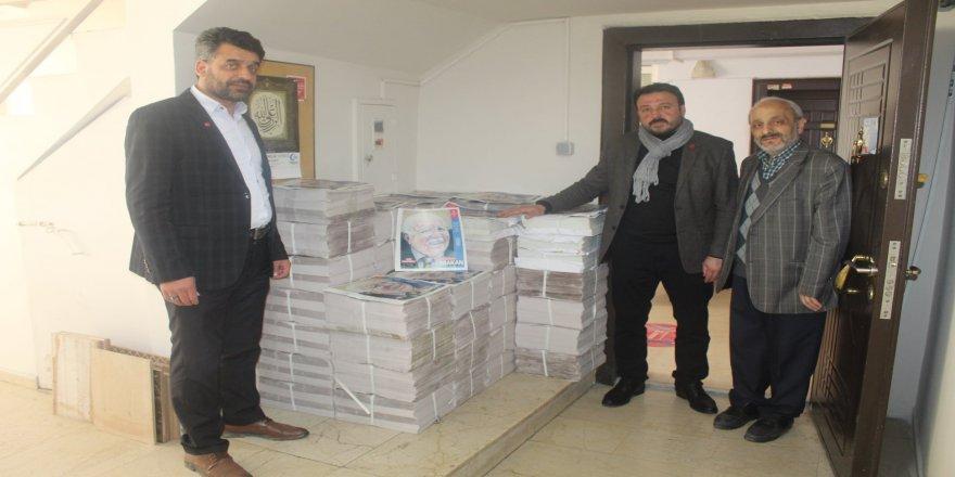 Saadet Erbakan'ı Milli Gazete ile anıyor