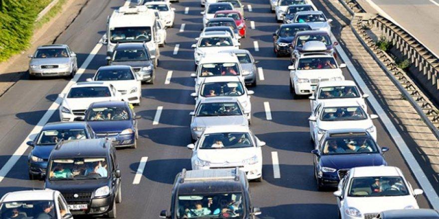 TÜİK VERİLERİNE GÖRE: Kocaeli'de araç sayısı 422 bin 979 oldu