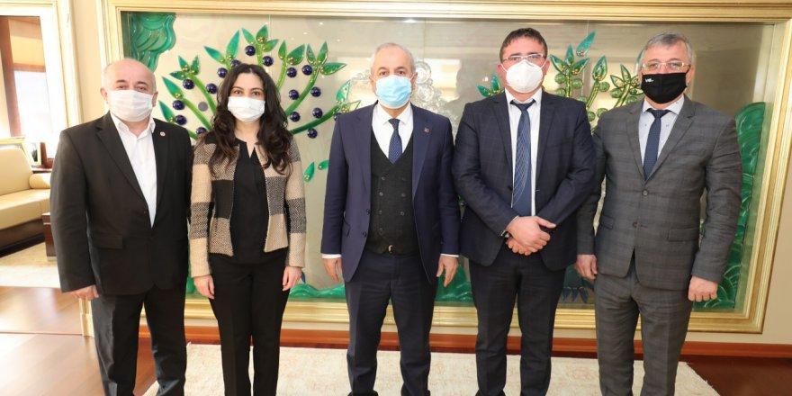 Büyükgöz'e Bulgaristan'dan konuk başkan