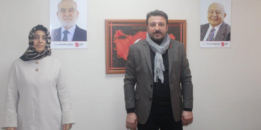Saadet Gebze'de kongre bahar mevsiminde