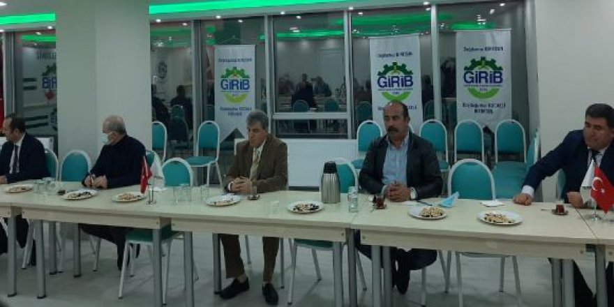 GİRİB yönetimi toplantı yaptı