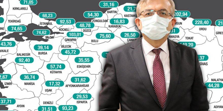 Gebze'de Vaka  sayısı yoğun