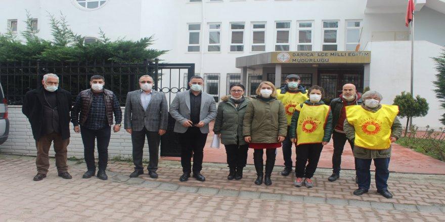 Darıca'da TÜGVA eğitimi  protokol kararına çekildi
