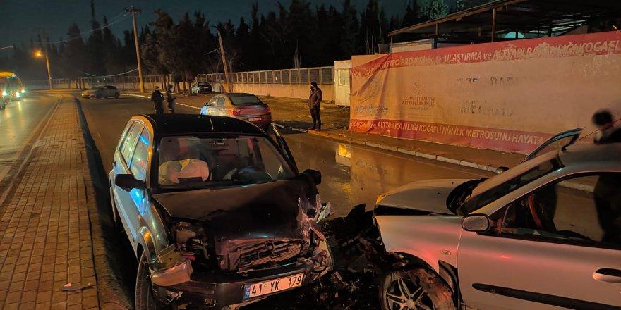 Zincirleme kaza: 2 yaralı