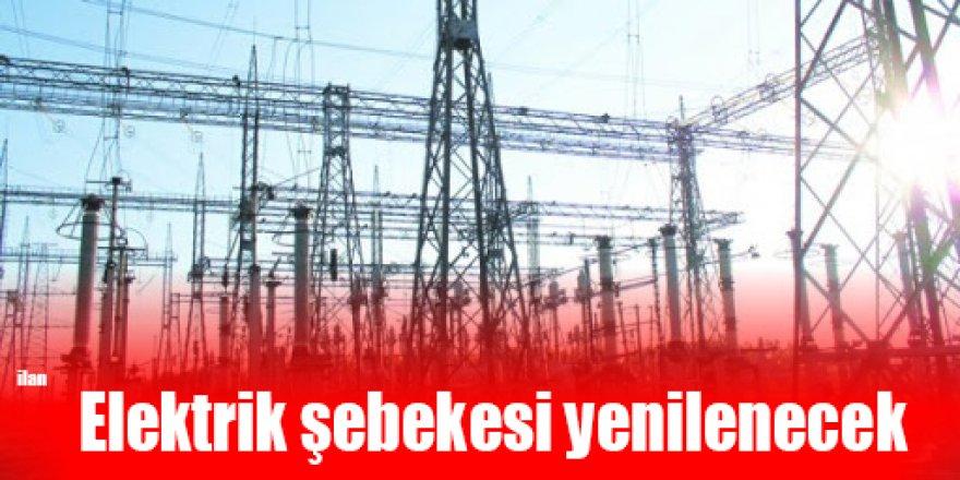Elektrik şebekesi yenilenecek