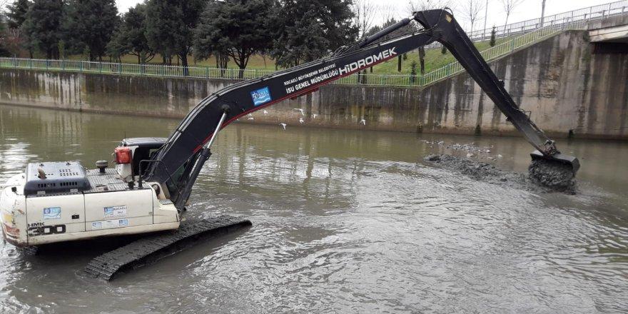 KOCAELİ'DE:  337 km dere temizliği yapıldı