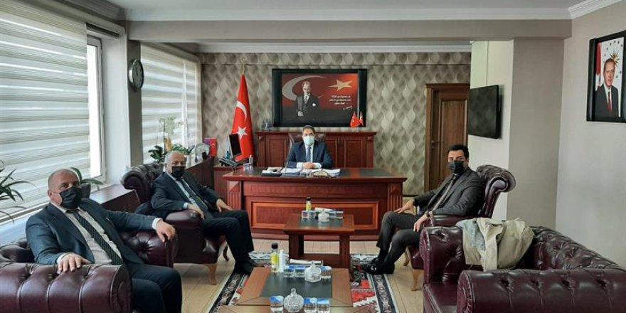 GEPOSB Kaymakam  Güler'i  ziyaret etti