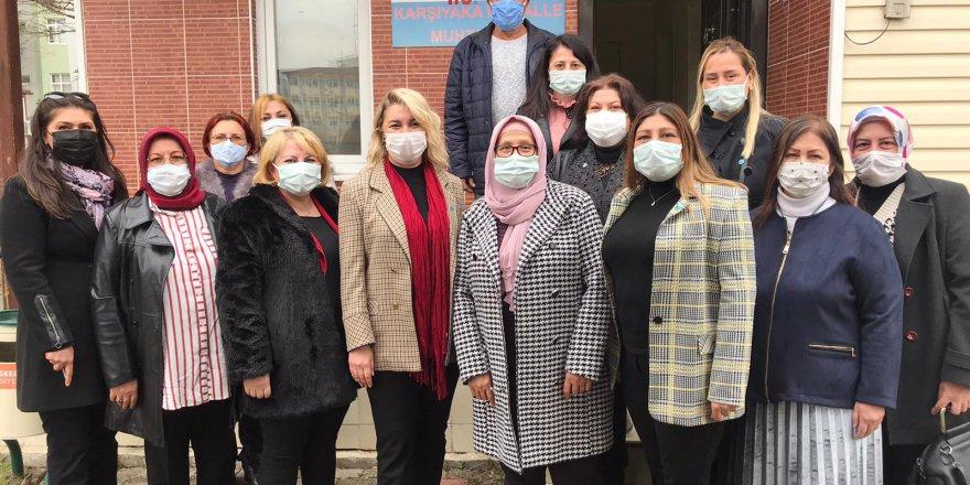 İYİ Parti kadınların saha çalışmaları sürüyor
