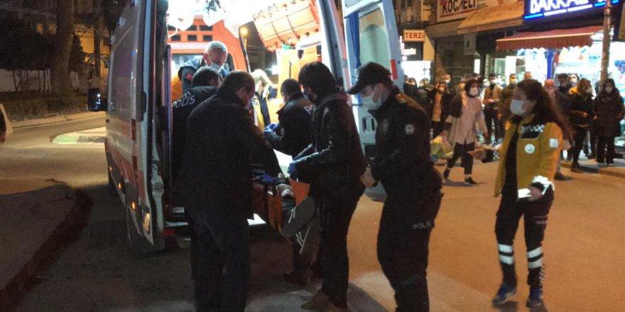 Silahla vurulan kişi yaralandı