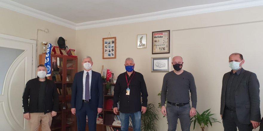 KOGACE'den gazetemize 21. Yıl ziyareti
