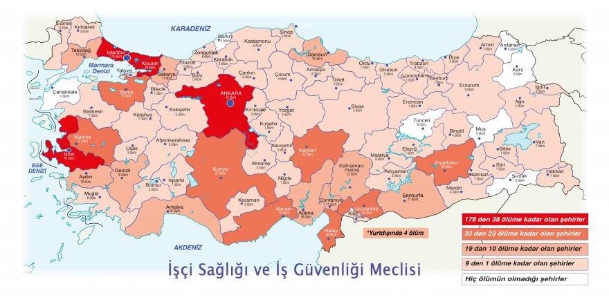 SALGININ BİRİNCİ YILINDA  861 işçi Covid-19 nedeniyle hayatını kaybetti