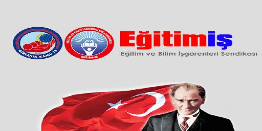 Eğitim-İş'ten resim yarışması: Çocuk gözüyle Atatürk
