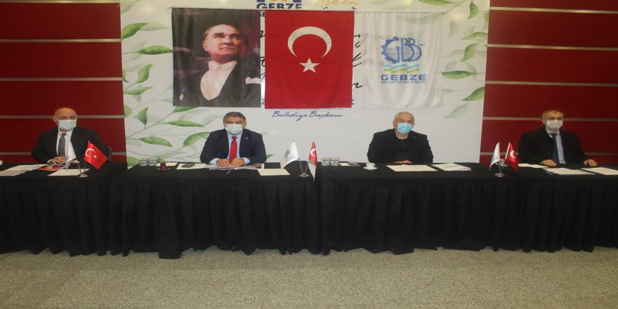 Gebze Belediyeler Birliği eşzamanlı meclis sorununu da görüştü