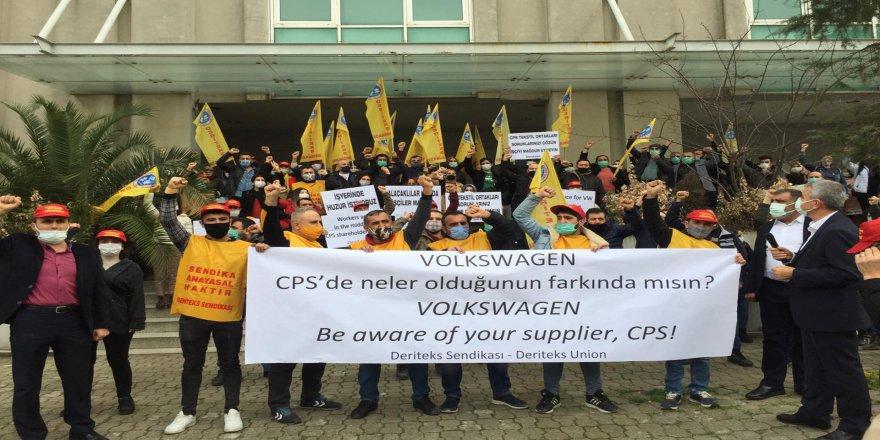 CPS işçileri 38 gün direndi. Hakkını aldı