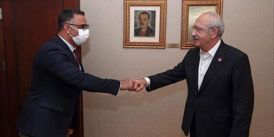 Gökhan Aktaş Kılıçdaroğlu ile görüştü